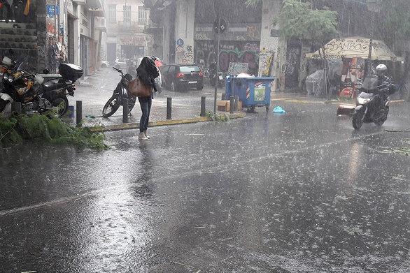 Αστεροσκοπείο Αθηνών: Τα μεγαλύτερα ύψη βροχής σε Καστρίτσι και Ρωμανό
