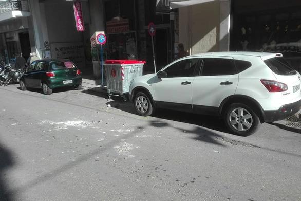 Πάτρα: Έπεσαν σοβάδες σε κεντρικό δρόμο της πόλης (φωτο)