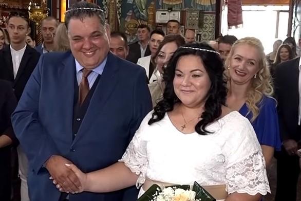 Η απίστευτη κίνηση νύφης σε γάμο στον Βόλο (video)