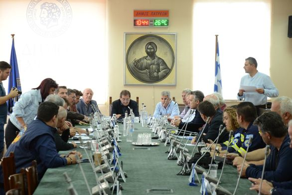 Πάτρα: Συνεδρίασε το Συντονιστικό Τοπικό Όργανο - Παρών ο Κώστας Πελετίδης