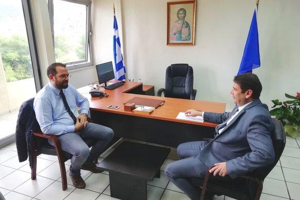 Επίσκεψη Νεκτάριου Φαρμάκη, στους δήμους Ξηρομέρου, Ακτίου - Βόνιτσας και Αμφιλοχίας