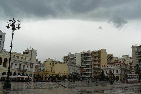 Βροχερό το σκηνικό του καιρού σήμερα στην Πάτρα