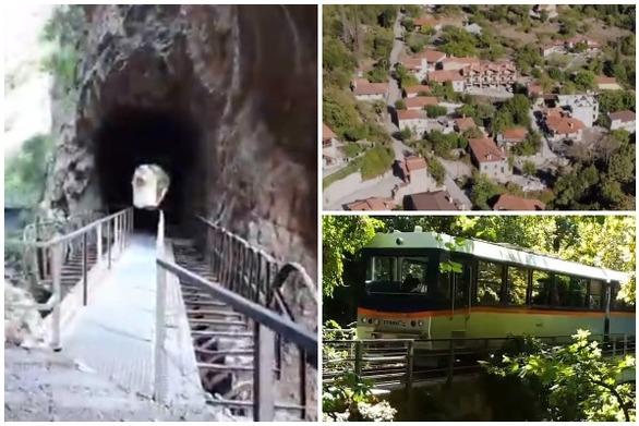Ταξιδεύοντας με τον οδοντωτό συναντάς ένα ξεχωριστό χωριουδάκι στην Αχαΐα (video)