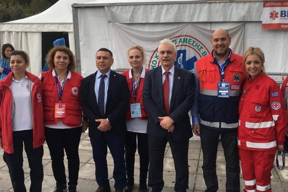 Εθελοντές του ΕΕΣ συμμετείχαν στον 37ο Αυθεντικό Μαραθώνιο Αθήνας