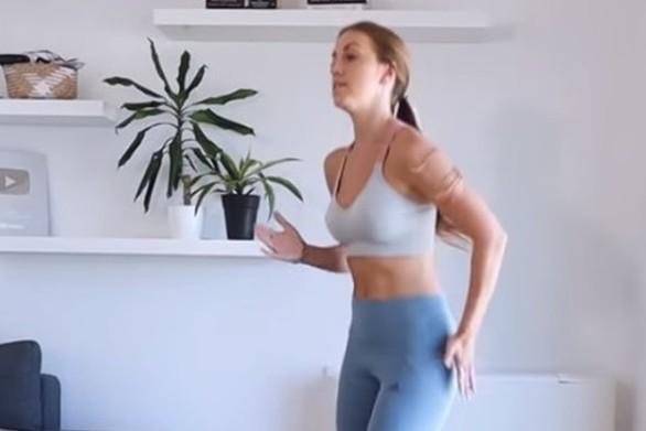 Πώς θα γυμνάσετε το σώμα σας σε 10 λεπτά (video)