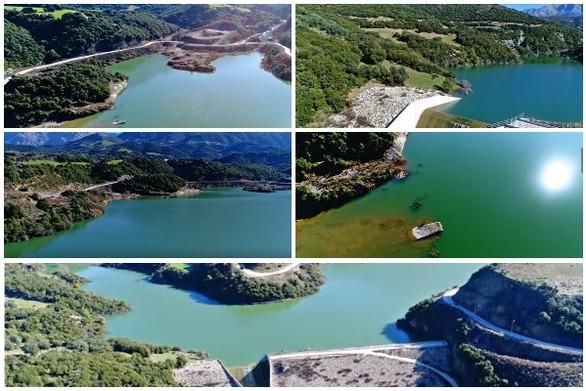 """""""Πετώντας"""" πάνω από τη λίμνη Βελιμαχίου (video)"""