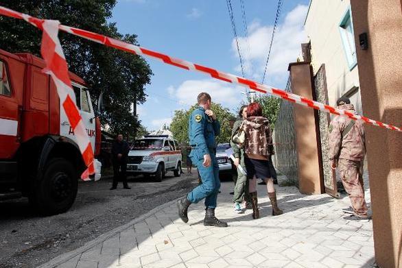 Έκρηξη σε αποθήκη πυρομαχικών στην Ουκρανία