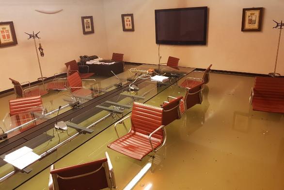 Πλημμύρισε αίθουσα δημοτικού συμβουλίου στη Βενετία (φωτο)