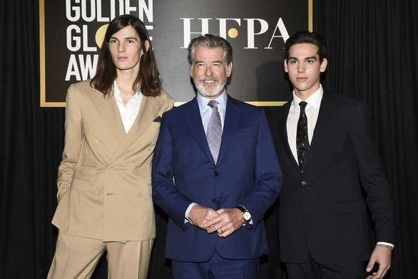 Οι γιοι του Pierce Brosnan θα είναι οι ambassadors των φετινών Golden Globes!