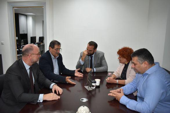 Πάτρα: Συνάντηση Πελετίδη - Φαρμάκη, για το ζήτημα του θερινού κινηματογράφου «ΑΕΛΛΩ»