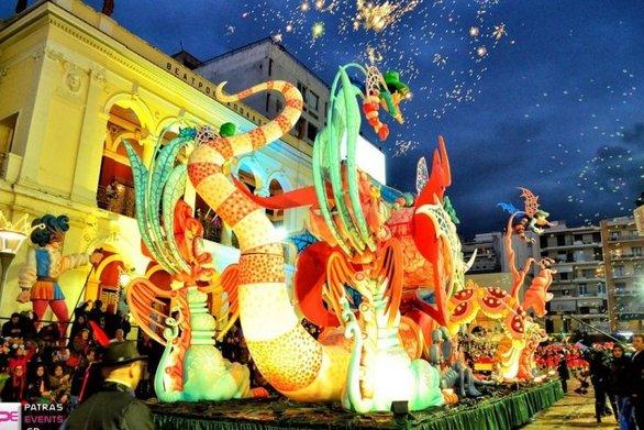 Η εστίαση της Πάτρας μπαίνει και φέτος μπροστά για το καρναβάλι της πόλης
