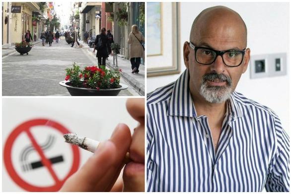 Ο Χαράλαμπος Μπονάνος στο patrasevents.gr: Κάπνισμα τέλος, χωρίς παράθυρα, συμβιβασμούς και εξαιρέσεις!