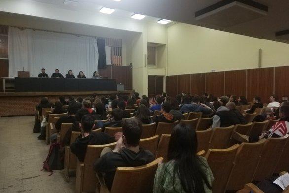 Πάτρα: Oι φοιτητές συντονίζονται απέναντι στο πολυνομοσχέδιο (φωτο)