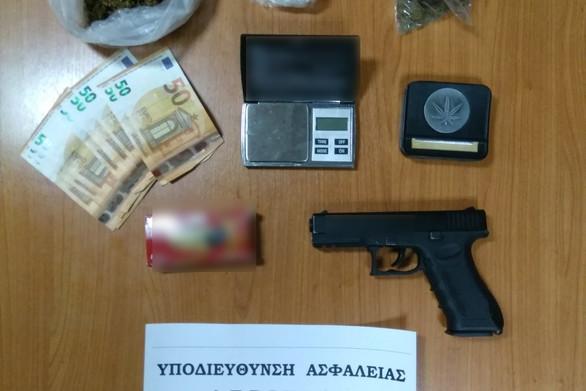 Δυτική Ελλάδα: Συνελήφθη 39χρόνος για κατοχή ναρκωτικών και παράνομη οπλοκατοχή