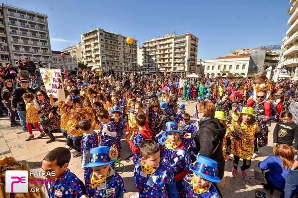 """""""Κύκλο κάνουν τα παιδιά με χρώματα διαφορετικά"""" στο Καρναβάλι των Μικρών 2020!"""