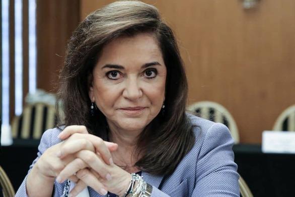 """Ντόρα Μπακογιάννη: """"Στηρίζουμε την πολιτική Μητσοτάκη"""""""