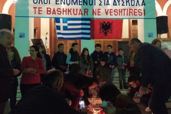 Συγκίνηση στην Πάτρα για τους 51 νεκρούς της Αλβανίας - Άναψαν κεριά