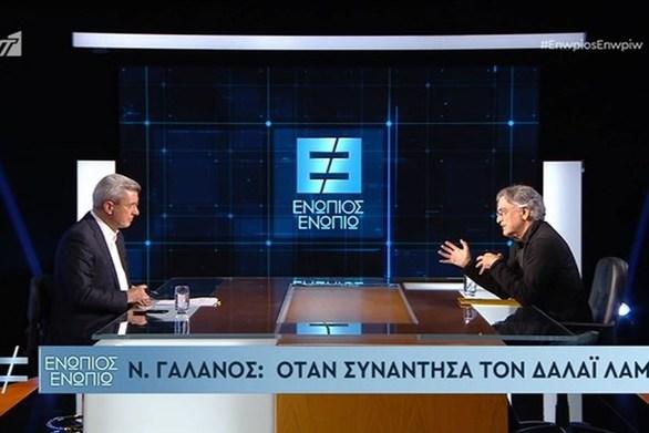 """Νίκος Γαλανός: """"Με έχει βαφτίσει ο Δαλάι Λάμα"""" (video)"""