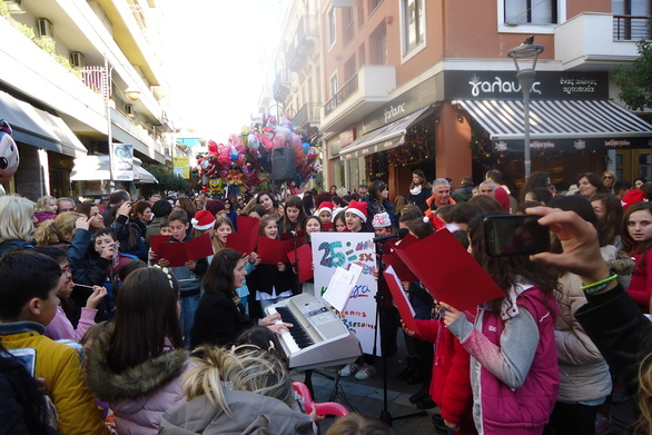 Πάτρα - Μια ξεχωριστή, χριστουγεννιάτικη γιορτή στον πεζόδρομο της Ρήγα Φεραίου!