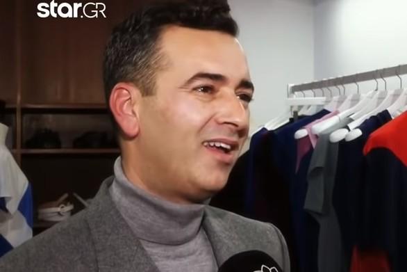 """Άγγελος Μπράτης: """"Ντύνω γυναίκες για να βγάλουν τα ρούχα τους σύντομα"""" (video)"""