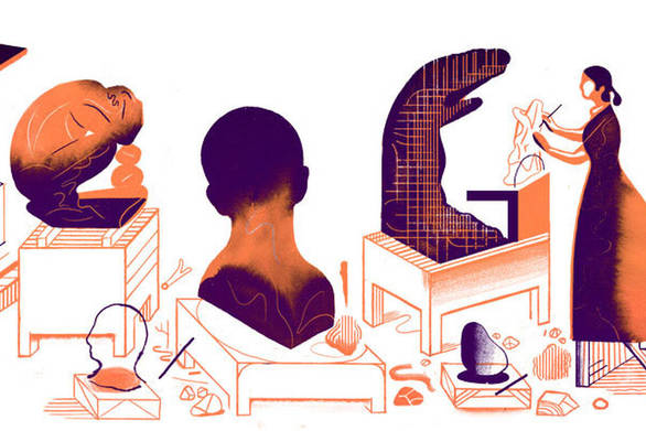 Camille Claudel: H Google τιμά με doodle την Γαλλίδα γλύπτρια!
