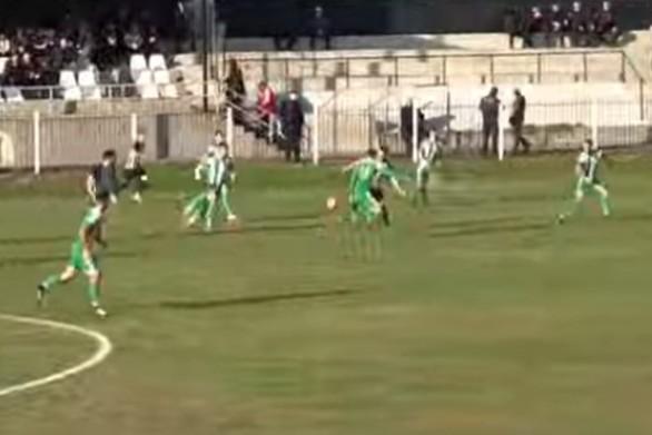 Άγριο ξύλο σε ματς της Γ' Εθνικής στην Ημαθία (video)