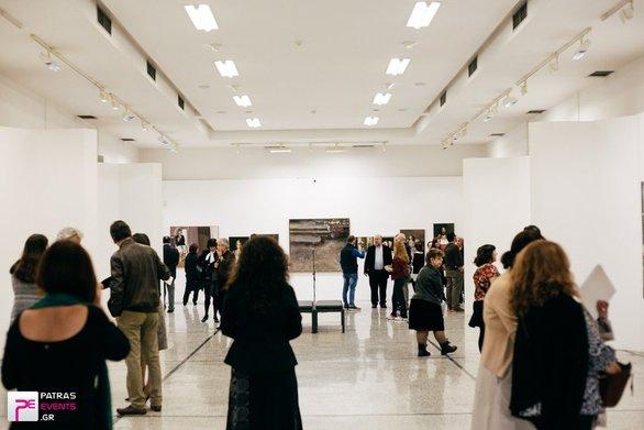 Πάτρα - Μια ιδιαίτερη έκθεση ζωγραφικής με έργα του Γρηγόρη Παπαθεοδώρου
