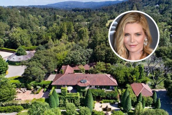 Μισέλ Φάιφερ: Πούλησε το κτήμα της στην Καλιφόρνια για 22 εκατ. δολάρια