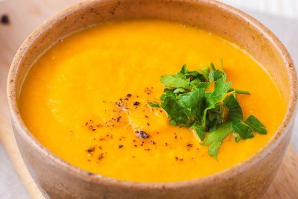 Πικάντικη καροτόσουπα για τις κρύες ημέρες