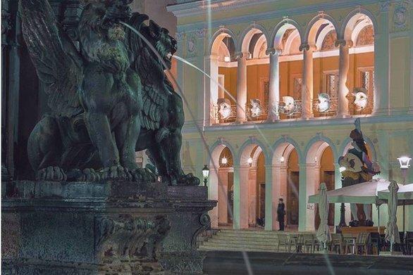 3D Projection Mapping στο θέατρο Απόλλων της Πάτρας στην τελετή έναρξης του Καρναβαλιού 2020!