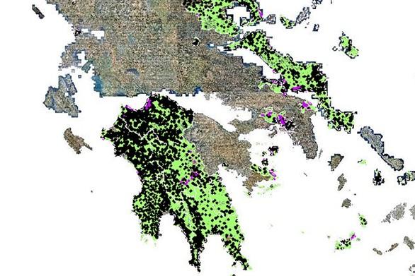 Αχαΐα - Ηλεία: Δασικοί Χάρτες - Μπλοκαρισμένες 12.000 αντιρρήσεις