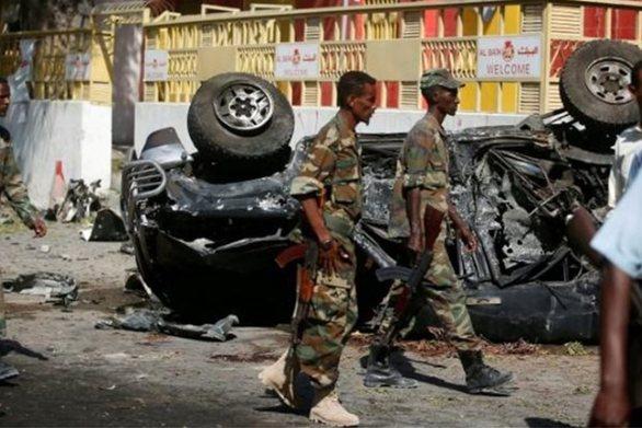 Σομαλία: 11 τραυματίες από έκρηξη βόμβας κοντά στο κοινοβούλιο