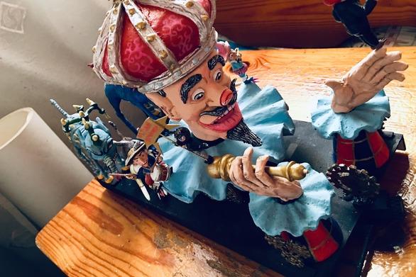Το καρναβάλι της Πάτρας είναι έρωτας - Ο Βασιλιάς του 2019 σε μορφή μινιατούρας (φωτό)