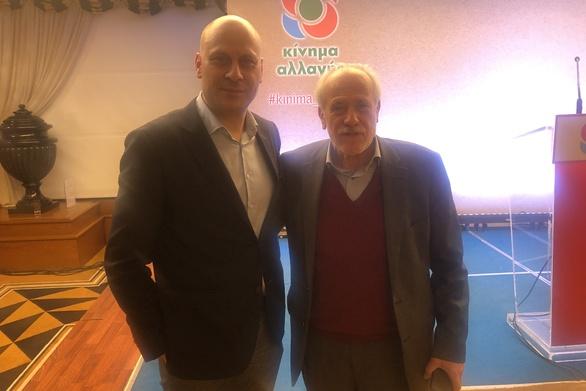Ο Ανδρέας Τζουραμάνης συναντήθηκε με τον Γιάννη Κουτσούκο