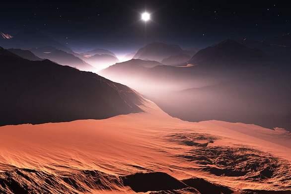 Ο Άρης χάνει το λιγοστό νερό του απρόσμενα γρήγορα