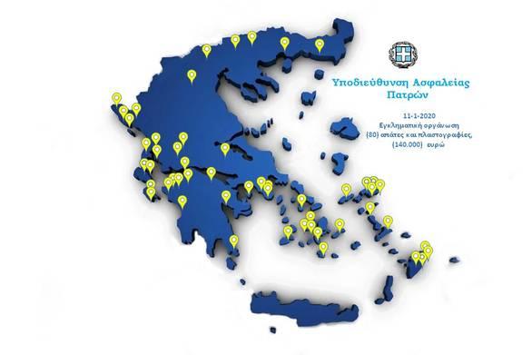Η Ασφάλεια Πατρών για την εξάρθρωση της σπείρας απατών και πλαστογραφιών - Δρούσε σε όλη την Ελλάδα