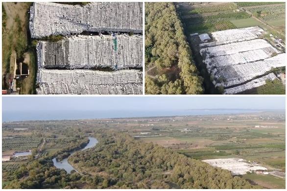 Ηλεία: Τόνοι από σκουπίδια στις όχθες του Αλφειού ποταμού (video)