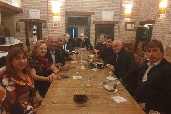 Συνάντηση των υποψήφιων βουλευτών του Κινήματος Αλλαγής στην Αχαΐα