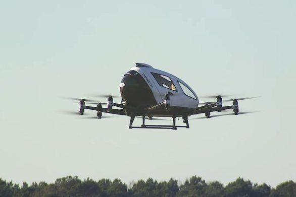 ΗΠΑ: Ιπτάμενο ταξί έκανε δοκιμαστική πτήση στη Βόρεια Καρολίνα (video)
