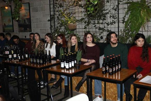 Σπουδαστές της Πάτρας έφτιαξαν την δική τους μπύρα στον 1ο Φοιτητικό Διαγωνισμό Ζύθου