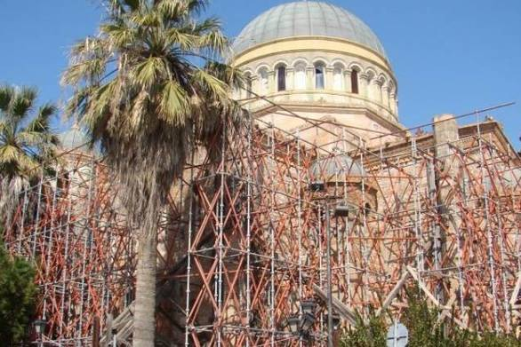 Αίγιο: Αναλαμβάνει εξ' ολοκλήρου την αποκατάσταση του Ι.Ν. Εισοδίων ο εφοπλιστής Μαρτίνος