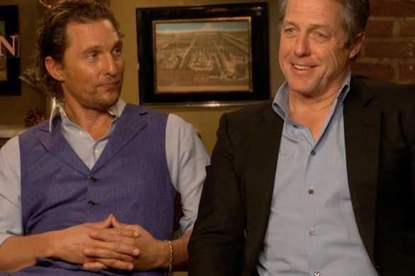 Matthew McConaughey και Hugh Grant έστησαν ραντεβού για τους γονείς τους (video)