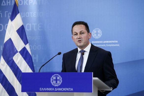 """Πέτσας: """"Ο Μητσοτάκης είπε στη Μέρκελ ότι η Ελλάδα θα υπερασπιστεί τα ζωτικά της συμφέροντα στη Μεσόγειο"""""""