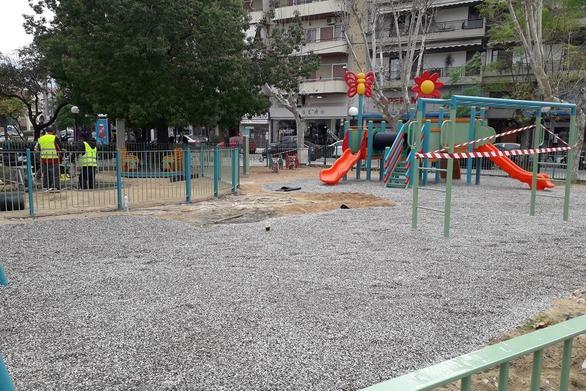 Πάτρα: Συνεχίζονται οι εργασίες στην πλατεία Μαρούδα (φωτο)