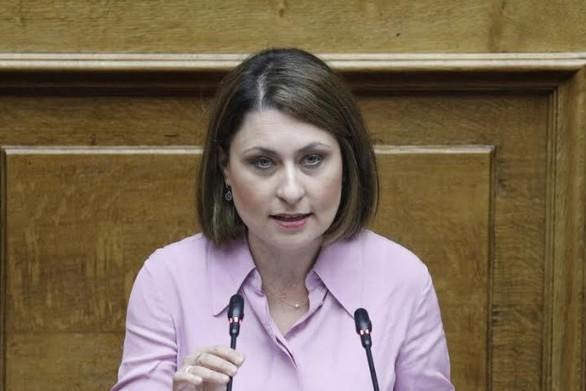 Συγχαρητήριο μήνυμα Χριστίνας Αλεξοπούλου στην τοπική ΕΛ.ΑΣ.