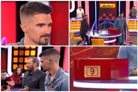 Ο Αχαιός Νίκος Ταπεινός προκάλεσε... καρδιοχτύπια στο Deal! (video)