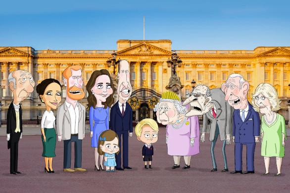 Η βασιλική οικογένεια γίνεται σειρά κινουμένων σχεδίων