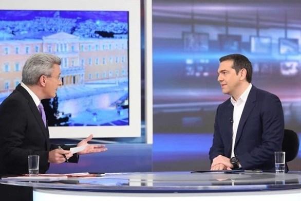 """""""Ενώπιος Ενωπίω"""" - Ο Αλέξης Τσίπρας καλεσμένος του Νίκου Χατζηνικολάου! (video)"""