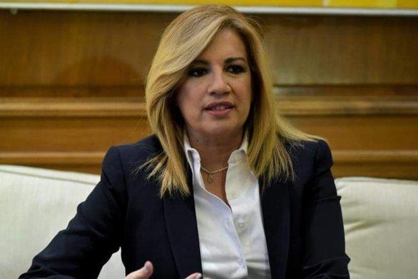 """Φώφη Γεννηματά: """"O Μητσοτάκης φαντάζεται τζούφιες εκλογές"""""""