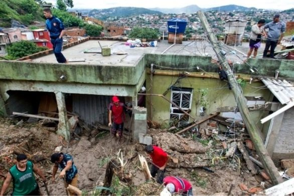 Βραζιλία: Τουλάχιστον 37 νεκροί από τη σφοδρή καταιγίδα